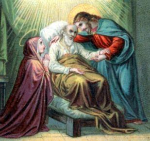 Ste Faustine récite le chapelet de la Miséricorde pour un mourant 103088946_o