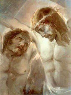 12 octobre : Saint Dismas Le Bon Larron 255474561f1beb827075ed2f8feb3943--j_C3_A9sus-christ-jesus-art0