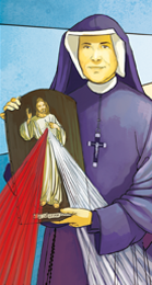 Epreuves de Dieu avec Sainte Faustine 3412-triptyque-du-sacre-coeur-de-jesus0