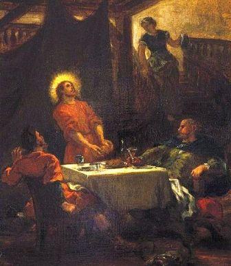 Saint Augustin Lundi de Pâques 513px-Brooklyn_Museum_-_The_Disciples_at_Emmaus_or_The_Pilgrims_at_Emmaus__28Les_disciples_d_27Emma_