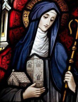 1er février : Sainte Brigitte d'Irlande (de Kildare) 62d51a10
