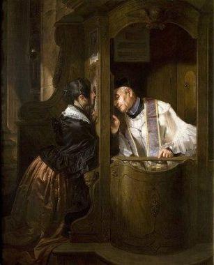 Le Purgatoire et la confession  647px-Artgate_Fondazione_Cariplo_-_Molteni_Giuseppe_2C_La_confessione