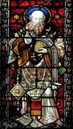 13 septembre : Saint Jean Chrysostome 77718342-saint-jean-chrysostome-sur-le-vitrail-de-l-_C3_A9glise-anglicane-all-saints-rome-italie