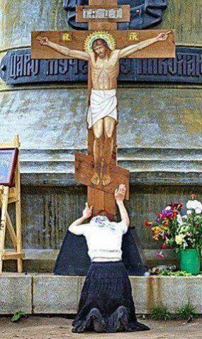 Les souffrances du Seigneur me transpercent l'âme 77b90f24f7cdc3d8e411276a7af55022