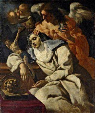25 mai Sainte Marie Madeleine de Pazzi  81e2aebb7d13adc5d79e42df3116a47c