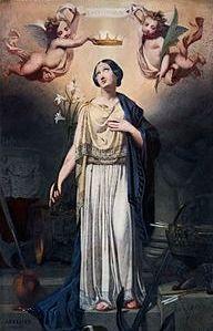 10 août Sainte Philomène Cath_C3_A9drale_Notre-Dame-de-l_27Assomption_de_Montauban_-_Couronnement_de_sainte_Philom_C3_A8ne_-_