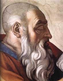 6 septembre Saint Zacharie Prophète de l'Ancien Testament ITRENPEIMICHANG108