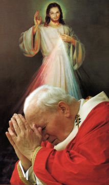 8 avril 2018  : Fête de la Miséricorde Divine (Dimanche de Quasimodo) JPII_202008_20_200020