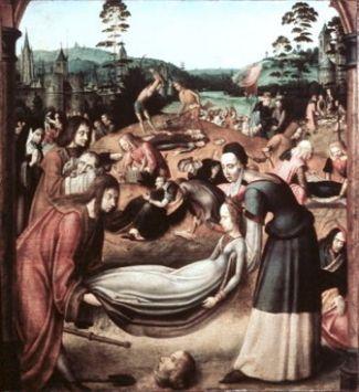 21 octobre Sainte Ursule et ses compagnes Ma_C3_AEtre_colonais_du_cycle_de_sainte_Ursule_18__Enterrement_des_compagnes