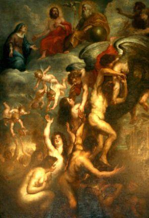 Neuvaine de la Toussaint pour les âmes du Purgatoire. N-D_de_Tournai_Rubens