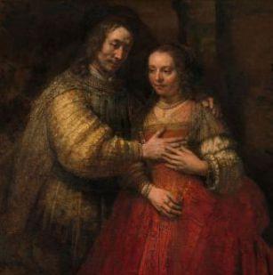 23 mars : Sainte Rebecca (Ancien Testament)  Rembrandt_Harmensz__van_Rijn_-_Het_Joodse_bruidje