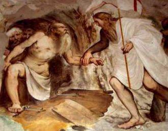 1er sermon de Saint Bernard pour l'Avent Romanino-Pisogne-descente-aux-enfers