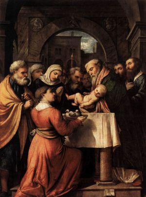 2 Février : La Présentation de Jésus au Temple Romanino_2C_presentazione_di_ges_C3_B9_al_tempio
