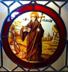 6 juin : Saint Claude de Besançon  Rondel_avec_la_figure_de_Saint_Claude