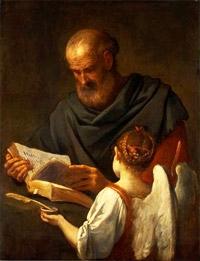 Saints et Saintes du jour - Page 7 Saint-Matthieu-et-l-Ange