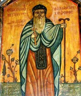 15 janvier : Saint Macaire d'Egypte Saint_Macarius