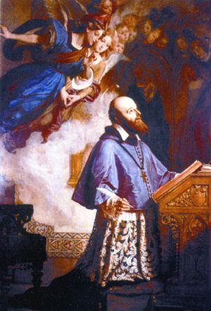 24 janvier Saint François de Sales St-Francois-de-Sales