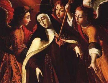 Saint du jour - Page 2 St_Teresa_of_Avila