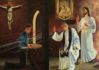 Ste Faustine apprend comment recevoir le Sacrement du Pardon F2a3da9a8e4ec2577c66f45083f9a594