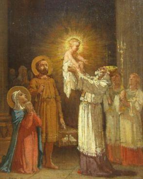 Du 11 au 19 mars Neuvaine à Saint Joseph Jean-edouard-dargent-dit-yan-d-argent-presentation-de-jesus-au-temple-tableau-