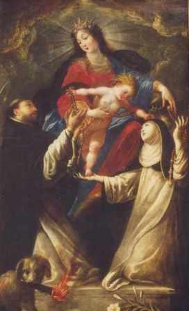 7 octobre : Notre-Dame du Rosaire TableauStDominique