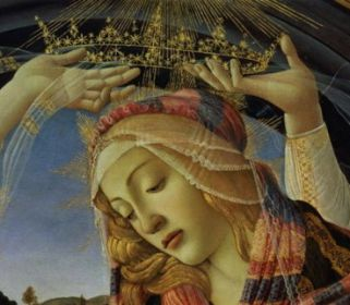 22 août Sainte Marie Reine The_madonna_of_the_magnificat__hi