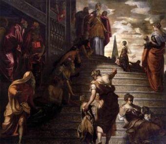 21 novembre : Présentation de la Très Sainte Vierge Tintoretcopieallge