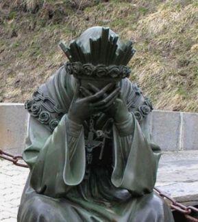 19 septembre : Notre Dame de la Salette  Viergeenpleurslasalette